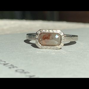 Todd Reed Raw Diamond Solitaire